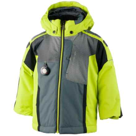 Obermeyer Blaster Ski Jacket - Waterproof, Insulated (For Little and Big Boys) in Screamin Green - Closeouts