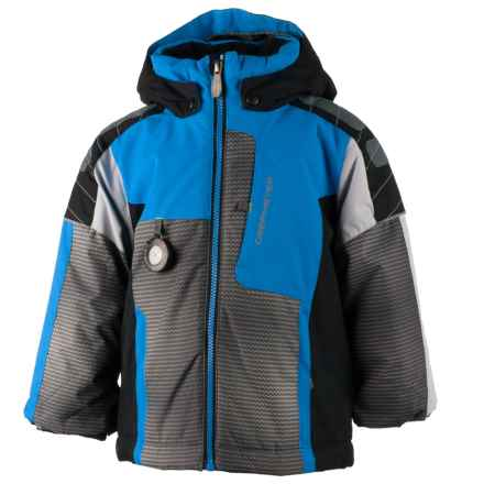 Obermeyer Blaster Ski Jacket - Waterproof, Insulated (For Little and Big Boys) in Stellar Blue - Closeouts
