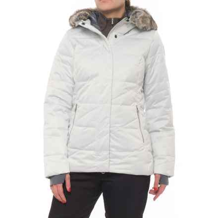 Obermeyer Bombshell Down Parka - Waterproof, 600 FP (For Women) in Ceramic - Closeouts