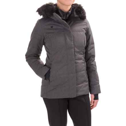 Obermeyer Bombshell Down Parka - Waterproof, 600 FP (For Women) in Herringbone - Closeouts