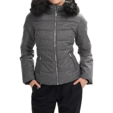 Obermeyer Bombshell Jacket - Waterproof, Insulated (For Women) in Charcoal - Closeouts