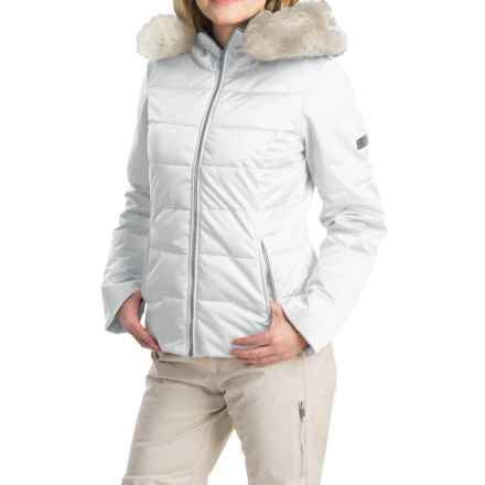 Obermeyer Bombshell Jacket - Waterproof, Insulated (For Women) in White - Closeouts