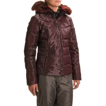 Obermeyer Bombshell Special Edition Jacket - Waterproof (For Women) in Black Currant - Closeouts