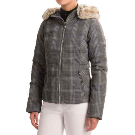 Obermeyer Bombshell Special Edition Jacket - Waterproof (For Women) in Plaid Heather - Closeouts