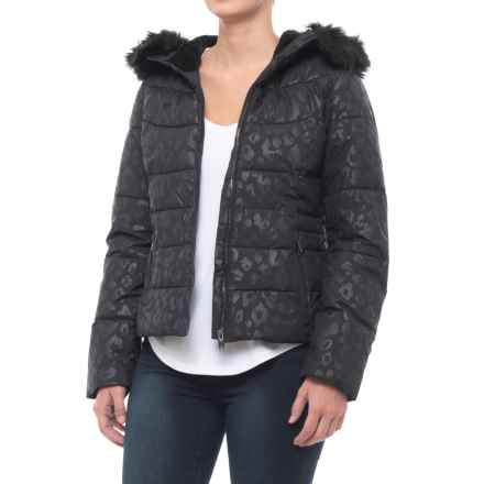 Obermeyer Bombshell Special Edition Jacket - Waterproof, Insulated (For Women) in Dark Leopard - Closeouts