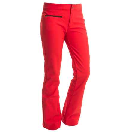 Obermeyer Bond II Soft Shell Ski Pants - Waterproof (For Women) in True Red - Closeouts