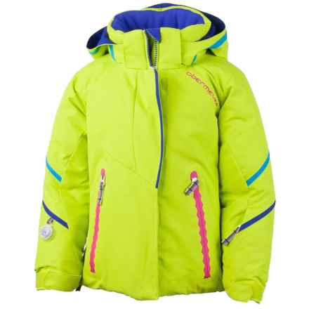 Obermeyer Brier Ski Jacket - Insulated (For Toddler and Little Girls) in Lime - Closeouts