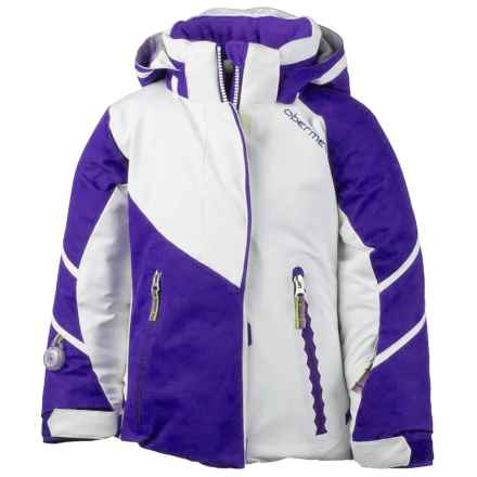 Obermeyer Brier Ski Jacket - Insulated (For Toddler and Little Girls) in White - Closeouts