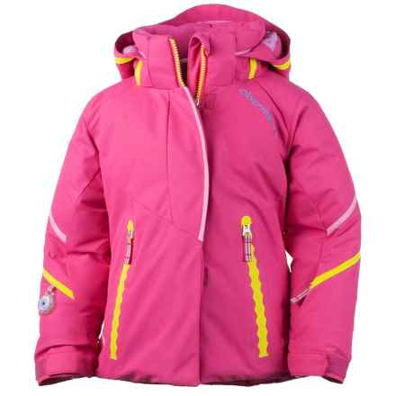 Obermeyer Brier Ski Jacket - Insulated (For Toddler and Little Girls) in Wild Pink - Closeouts