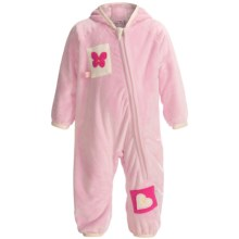 Obermeyer Bug in a Rug Fleece Bunting Suit (For Infants) in Cotton Candy - Closeouts