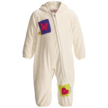 Obermeyer Bug in a Rug Fleece Bunting Suit (For Infants) in Marshmallow - Closeouts