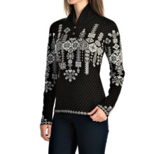 Obermeyer Cabin Pullover Sweater (For Women) in Black - Closeouts