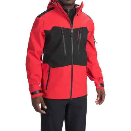 Obermeyer Capitol Soft Shell Jacket - Waterproof (For Men) in True Red - Closeouts