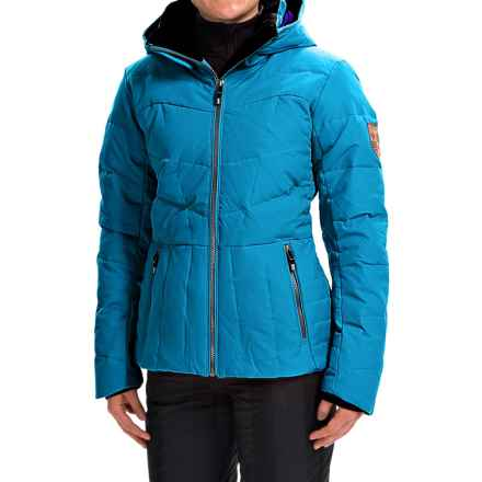 Obermeyer Cascade Down Ski Jacket - 480 Fill Power (For Women) in Bluebird - Closeouts