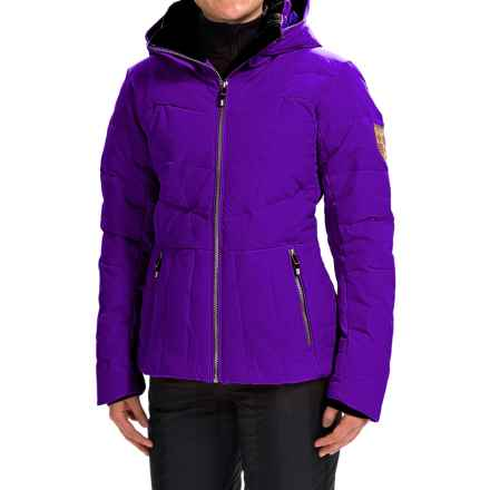 Obermeyer Cascade Down Ski Jacket - 480 Fill Power (For Women) in Purple Reign - Closeouts