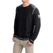 Obermeyer Chad Sweater - Merino Wool, Crew Neck (For Men) in Black - Closeouts