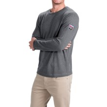Obermeyer Chad Sweater - Merino Wool, Crew Neck (For Men) in Silver - Closeouts