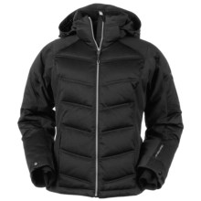 Obermeyer Circuit Down Jacket - 550 Fill Power (For Women) in Black - Closeouts
