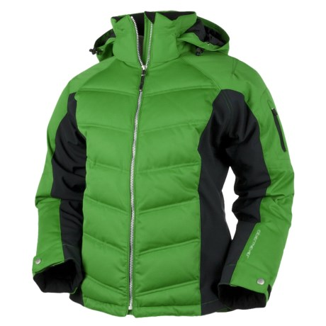 Obermeyer Circuit Down Jacket - 550 Fill Power (For Women) in Polo