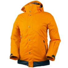 Obermeyer Cirque Ski Jacket - Waterproof, Insulated (For Little and Big Boys) in Habanero - Closeouts
