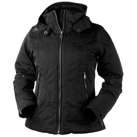 Obermeyer Claire Jacket - Insulated (For Women) in Black
