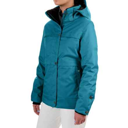Obermeyer Cloudburst Ski Jacket - Waterproof, Insulated (For Women) in Gypsy Blue - Closeouts