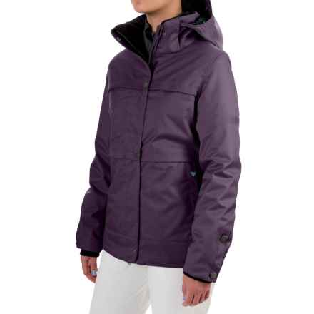 Obermeyer Cloudburst Ski Jacket - Waterproof, Insulated (For Women) in Nightshade - Closeouts