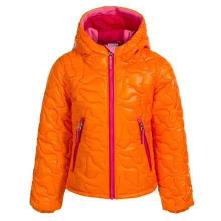 Obermeyer Comfy Jacket - Insulated (For Little and Big Girls) in Tangerine - Closeouts