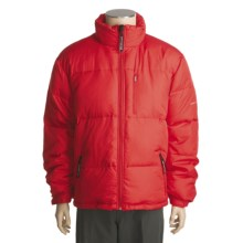Obermeyer Copper Down Jacket- 700 Fill Power (For Men) in True Red - Closeouts