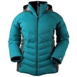 Obermeyer Corra Down Jacket - 550 Fill Power (For Women) in Turquoise