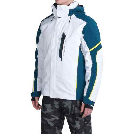 Obermeyer Cronus Ski Jacket - Waterproof, Insulated (For Men) in White - Closeouts