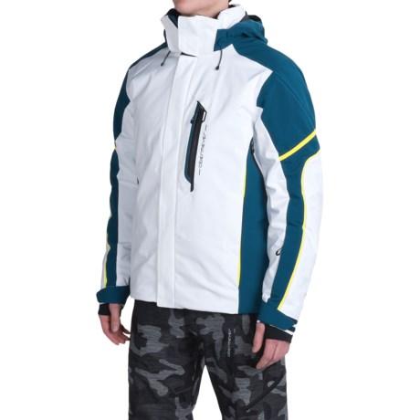 Obermeyer Cronus Ski Jacket - Waterproof, Insulated (For Men) in White