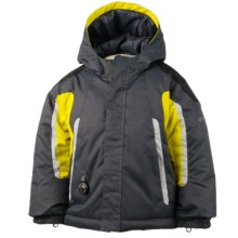 Obermeyer Cruise Snow Jacket - Waterproof, Insulated (For Toddlers and Little Boys) in Cyber Yellow - Closeouts