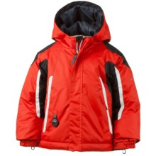 Obermeyer Cruise Snow Jacket - Waterproof, Insulated (For Toddlers and Little Boys) in Lava - Closeouts