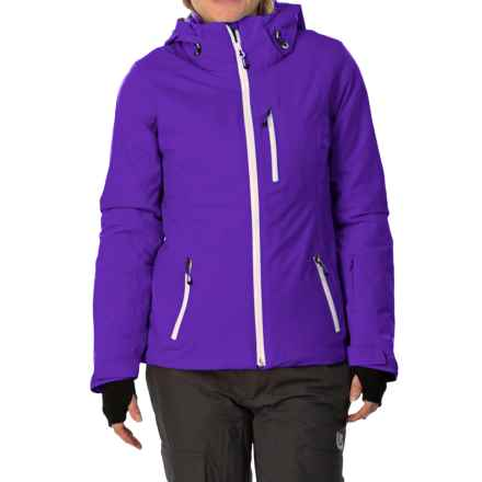 Obermeyer Cruz PrimaLoft® Ski Jacket - Waterproof, Insulated (For Women) in Purple Reign - Closeouts