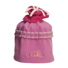 Obermeyer Cupcake Fleece Beanie Hat (For Little Girls) in Razzberry - Closeouts