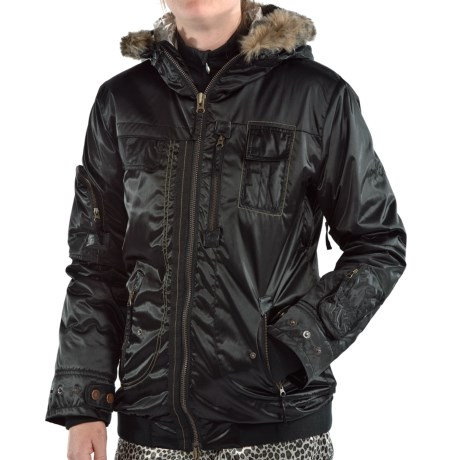 Obermeyer Dakota Jacket - Insulated (For Women) in Black