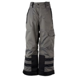 Obermeyer Dane Snow Pants - Insulated (For Boys) in Basalt