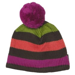 Obermeyer Dani Knit Hat (For Girls) in Waterfall