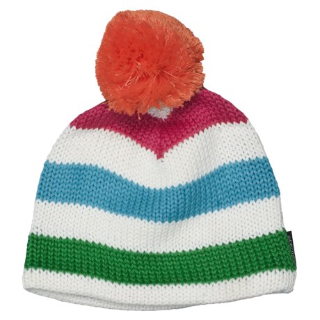 Obermeyer Dani Knit Hat (For Girls) in Cote Dazur