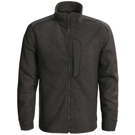 Obermeyer Dawson Sweater - Full Zip (For Men) in Coffee