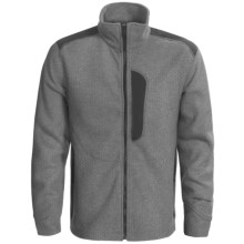 Obermeyer Dawson Sweater - Full Zip (For Men) in Quarry - Closeouts