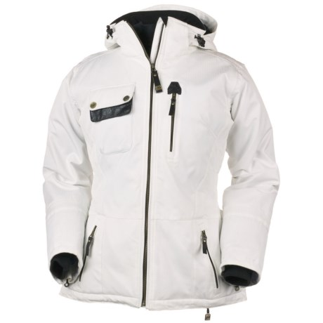 Obermeyer Delaney Jacket - Insulated (For Women) in Powder