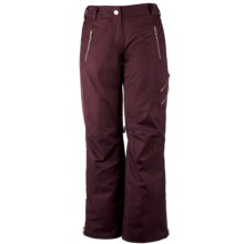 Obermeyer Delia Snow Pants - Insulated (For Women) in Maroon - Closeouts