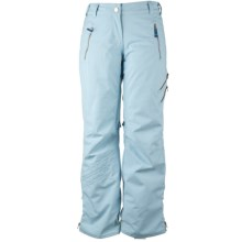 Obermeyer Delia Snow Pants - Insulated (For Women) in Whitewater - Closeouts