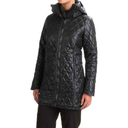 Obermeyer Desi Long Insulator Coat - Insulated (For Women) in Black - Closeouts