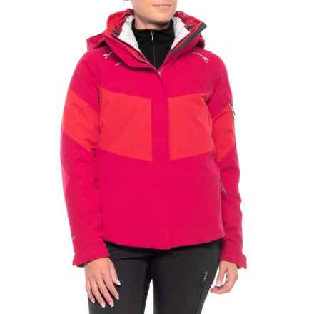Obermeyer Double Dare 4-in-1 Ski Jacket - Waterproof, Insulated (For Women) in Sangria - Closeouts