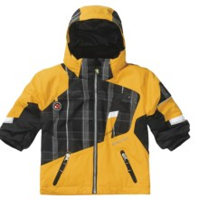 Obermeyer Downhill Jacket - Insulated (For Little Boys) in Solar - Closeouts