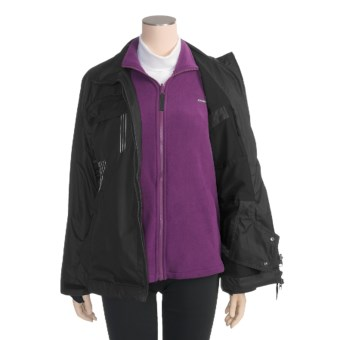 Obermeyer Dual Ski Jacket - 3-in-1, Insulated (For Women) in Black