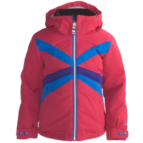 Obermeyer Electra Down Jacket (For Girls) in Berry